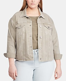 Lauren Ralph Lauren Plus Size Denim Jacket