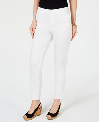 Style & Co Ankle-Length Chino Pants, Created for Macy's