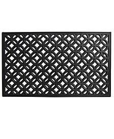 """Circles 18"""" x 30"""" Rubber Doormat"""