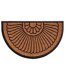 Shell 2' x 3' Coir/Rubber Doormat