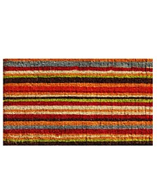 Natural Coir Stripe Coir Doormat Collection