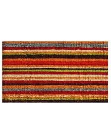 Natural Coir Stripe Coir Doormat Collection