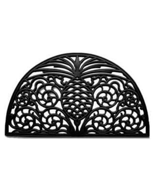 "Pineapple Grandeur 18"" x 30"" Rubber Doormat"