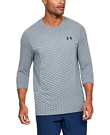 Under Armour Mens Vanish Seamless  3/4 Sleeve Shirt
