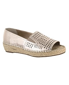 Cora Peep-Toe Espadrille Sandals