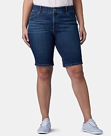 Lee Platinum Plus Size Flex To Go Bermuda Shorts