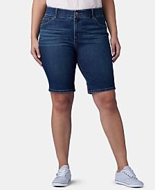 Lee Platinum Plus Size Flex To Go Bermuda Shorts