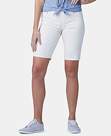 Petite Pull-On Bermuda Shorts