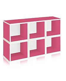 Way Basics Eco Stackable Modular Storage Cubes