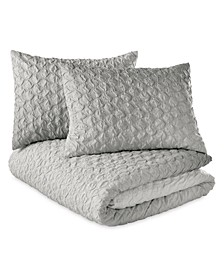 Ombre Honeycomb King Comf Set
