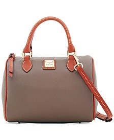 Dooney & Bourke Trudy Pebble Leather Satchel