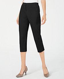 Alfani Straight-Leg Capri Pants, Created for Macy's