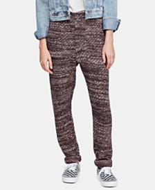Free People Cozy Knit Trousers