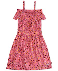 Big Girls Cotton Floral-Print Dress
