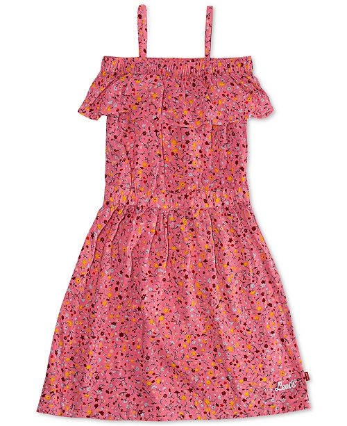 Levi's Big Girls Cotton Floral-Print Dress