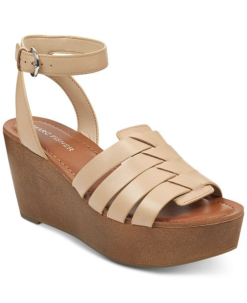 Marc Fisher Pasty Wedge Sandals