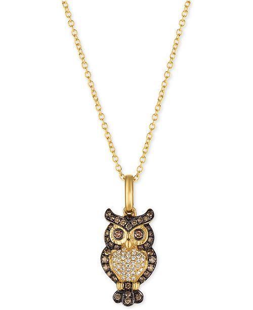 f2536d419 Le Vian Chocolatier® Owl 18