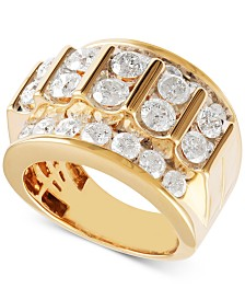Men's Diamond Ring (5 ct. t.w.) in 10k Gold