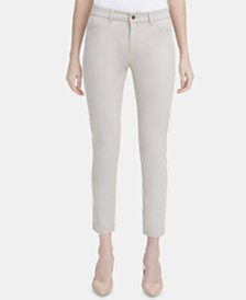 Calvin Klein 4-Pocket Straight-Leg Pants