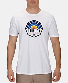 Hurley Men's Hexer Logo Graphic T-Shirt