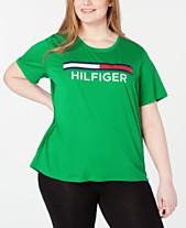 473a27b2d125 Tommy Hilfiger Sport Plus Size Logo Graphic T-Shirt