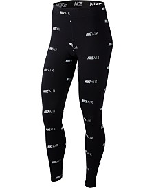 Nike Sportswear Air Logo-Print Leggings