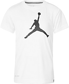 Little Boys Jumpman-Print T-Shirt