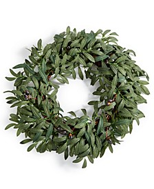 CLOSEOUT! La Dolce Vita Olive Leaf Artificial Wreath, Created for Macy's