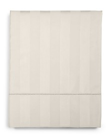 Charter Club Damask Ivory Stripe Queen Flat Sheet, 550 Thread Count 100% Supima Cotton, Created for Macy's