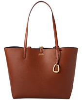Lauren Ralph Lauren Merrimack Reversible Faux Leather Tote 18c4f1c435668
