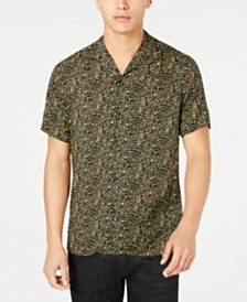 I.N.C. Men's Abstract Print Shirt, Created for Macy's
