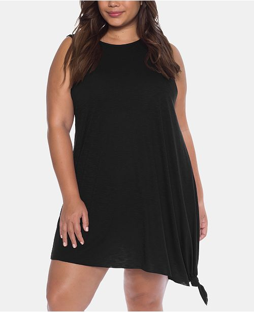 Becca ETC Plus Size Breezy Basics Cover-Up Dress