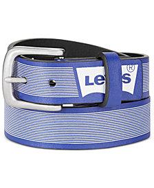 Levi's® Big Boys Striped Logo Reversible Belt