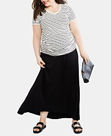Motherhood Maternity Plus Size Maxi Skirt