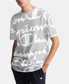 Champion Men's C-Life Big Script T-Shirt