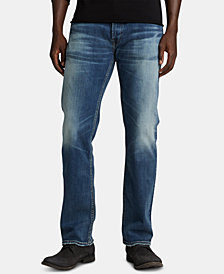 Silver Jeans Co. Men's Allan Classic Straight Jeans