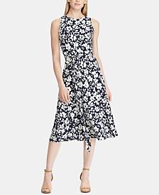 Lauren Ralph Lauren Floral-Print Fit & Flare Dress