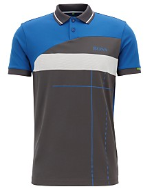 BOSS Men's Regular/Classic Fit Graphic Polo
