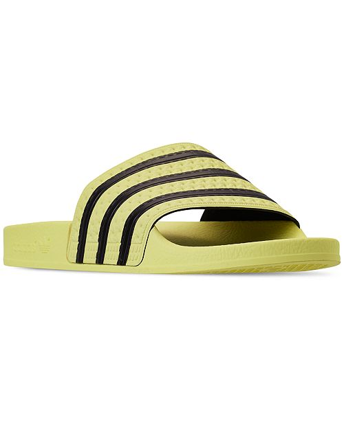 adidas Women s Adilette Slide Sandals from Finish Line - Finish Line ... 7427af1e21