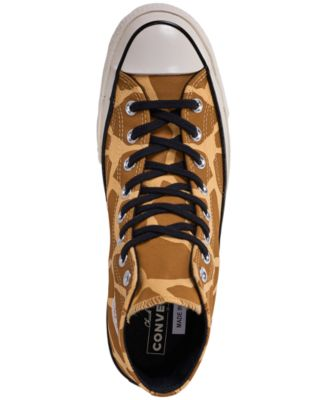 be44bf7131282 Converse Men's Chuck Taylor 70 Archive Prints High Top Casual Sneakers from  Finish Line