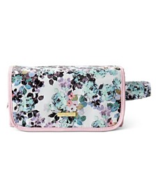 Adrienne Vittadini Hanging Beauty Case in Watercolor Floral