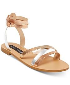 STEVEN by Steve Madden Women's Matas Strappy Flat Sandals