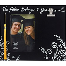 The Future Belongs To You 4x6 Graduation Photo Frame With Tassel Hook And Keepsake Clip 183435