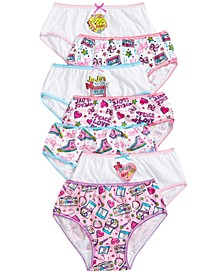 Little & Big Girls 7-Pk. JoJo Siwa Cotton Underwear
