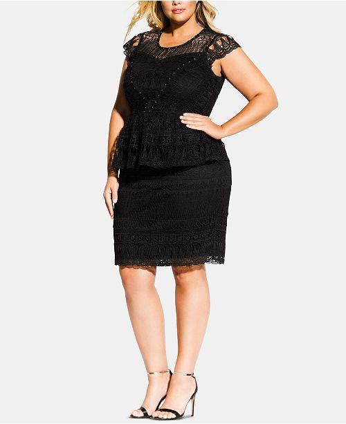 City Chic Trendy Plus Size Belissima Dress