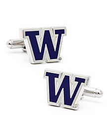 University of Washington Huskies Cuff Links