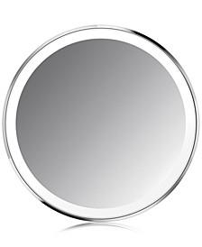 "4"" Compact Lighted Sensor Makeup Mirror"