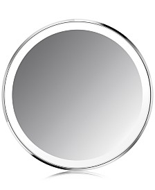 """simplehuman 4"""" Compact Lighted Sensor Makeup Mirror"""