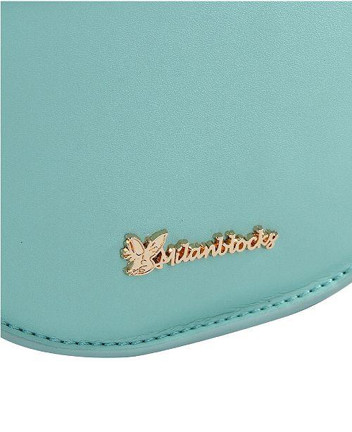 sacs bandoulière Accessoires cuir main a en vert Milanblocks de a menthe Sac HalfmoonCommentaires rdshBtCoQx
