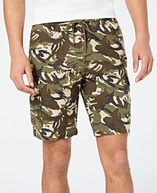 Men's Camo Drawstring Cargo Shorts, Created for Macy's